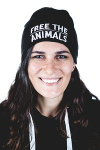 Berretto 'Free The Animals'