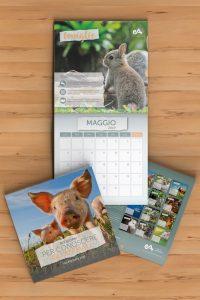 Calendario 2019 di Essere Animali
