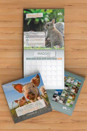 calendario 2019 scopri e conosci gli animali