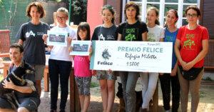 Al Rifugio Miletta la premiazione di Alice e Caterina vincitrici del Premio Felice
