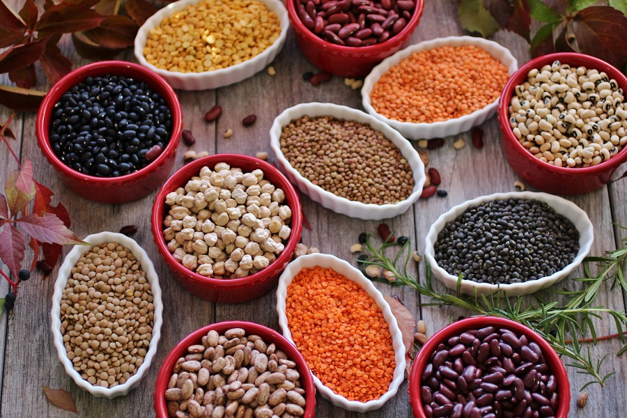 legumi di tutti i tipi