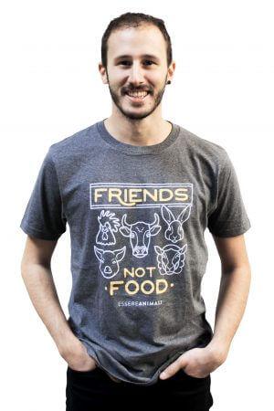 maglia friends not food essere animali