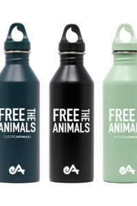 "Borraccia ""free the animals"" di Essere Animali"