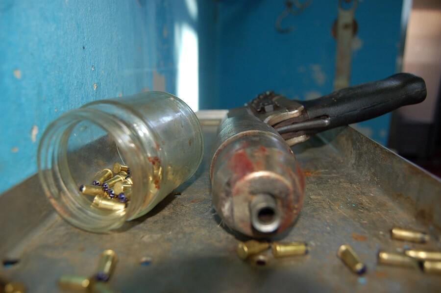 Pistola usata nei macelli