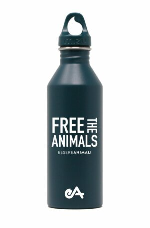Borraccia free the animals_front-essereanimali
