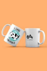 "Tazza ""I love animals"""