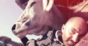 A Roma c'è un ex allevatore che ora salva gli animali