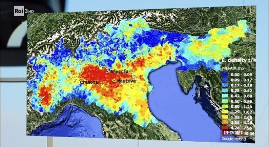 polveri sottili in Italia