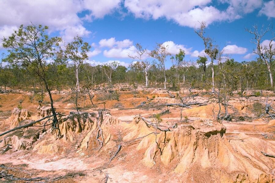 Erosione per desertificazione